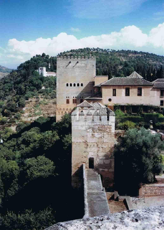 spanien andalusien granada sehensw rdigkeiten alhambra alcazaba. Black Bedroom Furniture Sets. Home Design Ideas
