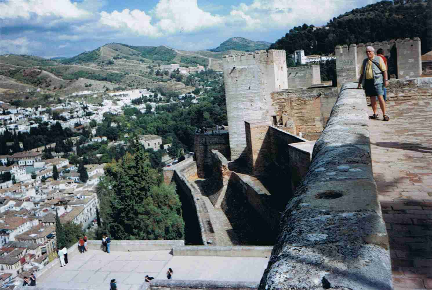 Alhambra, Albaicin, Sacramonte