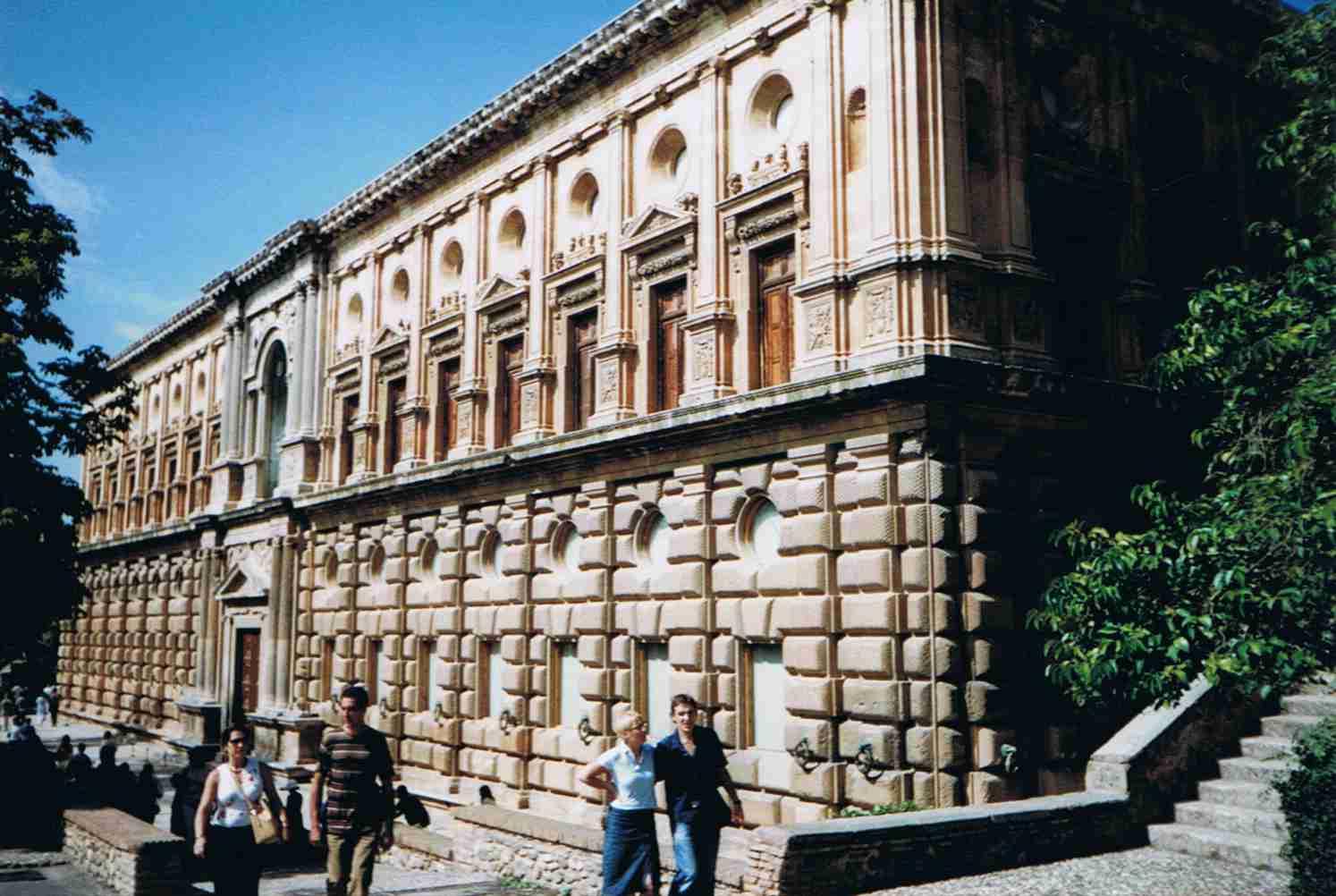 Alhambra, Palast Karl V